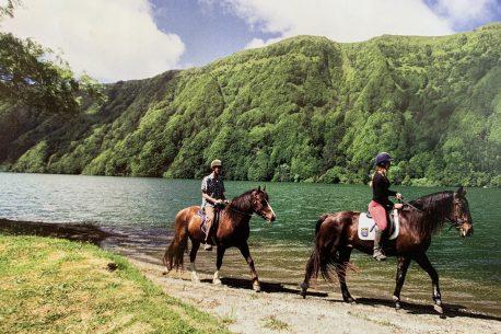 Vacanza a cavallo nelle Azzorre