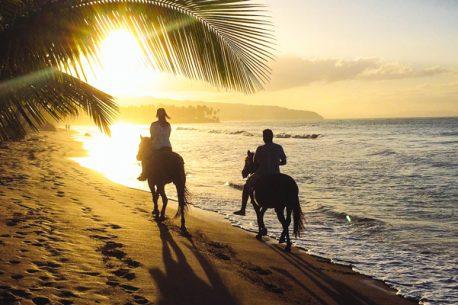 A cavallo in Repubblica Dominicana