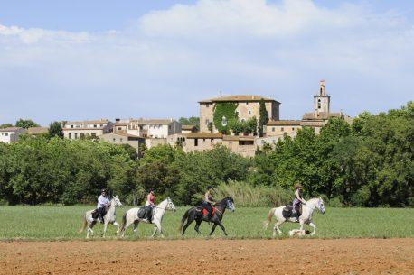 Viaggio a cavallo in Catalogna