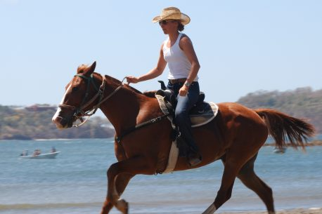 a cavallo a Guanacaste in Costa Rica