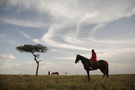 Safari a cavallo nel Masai Mara in Kenya