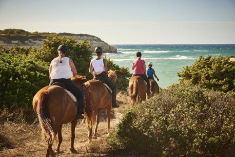 vacanze a cavallo in Sardegna