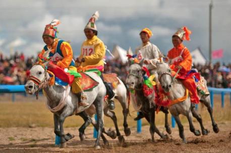 festival equestre Tagong