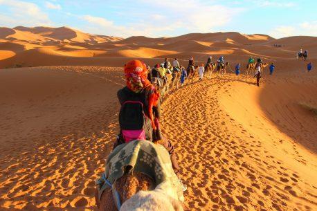La cavalcata nel deserto