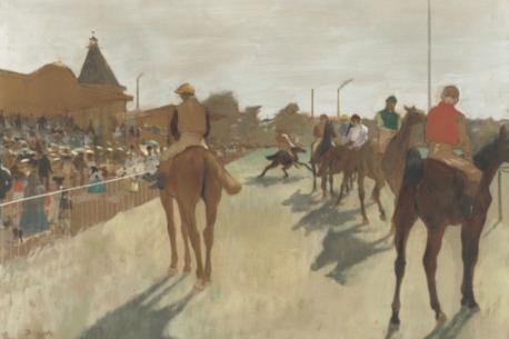Degas e i cavalli
