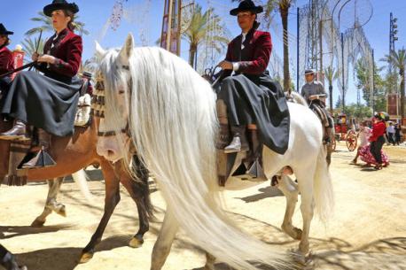 feria del caballo – ANDALUSIA