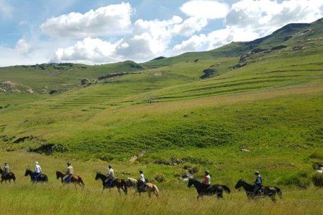 Viaggio a cavallo in Sudafrica e Lesotho