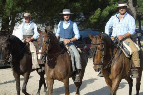 Viaggio a cavallo in Spagna a El Rocio