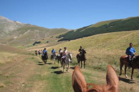 vacanze a cavallo in Umbria