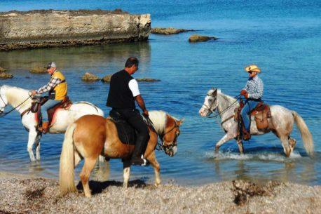 vacanze a cavallo in Salento