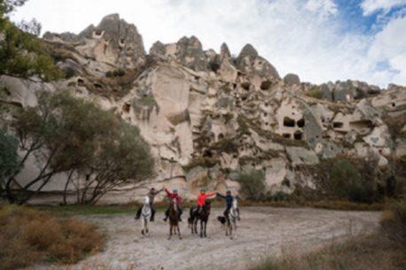 Viaggio a cavallo Cappadocia