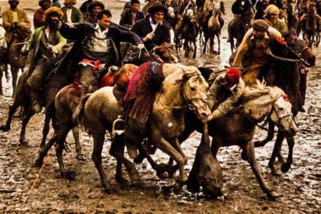 Buzkashi competizione ancestrale