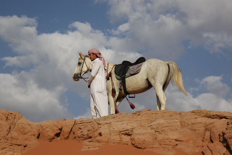 Wadi Rum a cavallo
