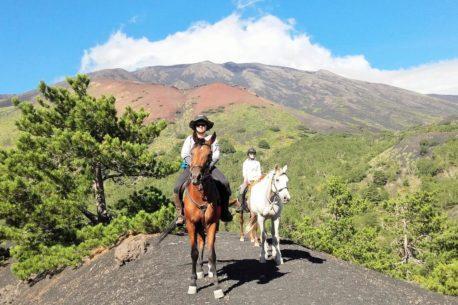 Sicilia escursioni a cavallo