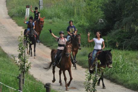 Passeggiate a cavallo Monferrato
