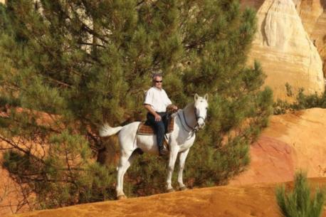 Luberon a cavallo