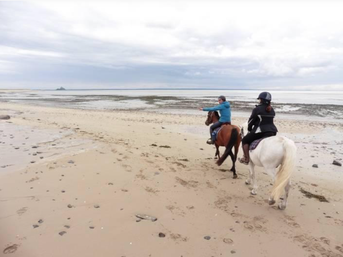 Normandia a cavallo