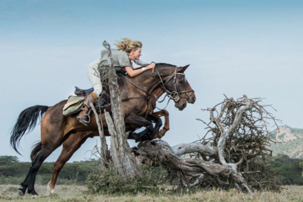safari a cavallo Kenya