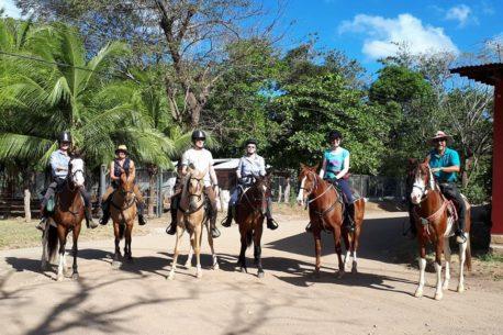 Andare a cavallo in Costa Rica
