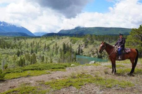 A cavallo in British Columbia
