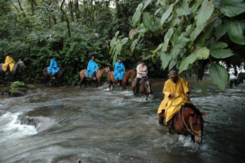 Costa Rica a cavallo