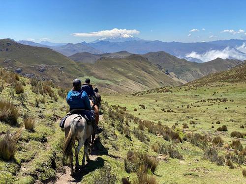 trekking a cavallo nelle ande